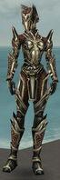 Warrior Elite Kurzick Armor F gray front