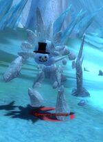 Glimmering Snowman