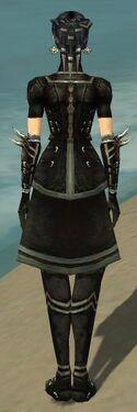 Necromancer Shing Jea Armor F gray back