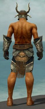 Warrior Elite Sunspear Armor M gray arms legs back