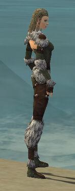 Ranger Elite Fur-Lined Armor F gray side