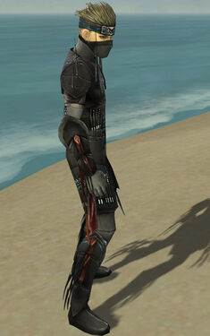 Assassin Ancient Armor M gray side