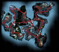 Darkrime Delves Map