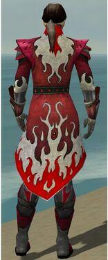 Elementalist Elite Flameforged Armor M dyed back