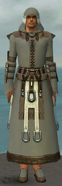 Dervish Elonian Armor M gray front