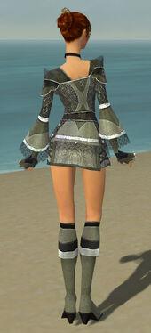 Elementalist Kurzick Armor F gray back