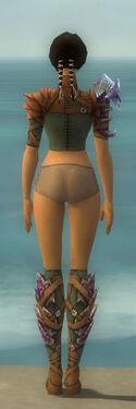 Ranger Drakescale Armor F gray chest feet back