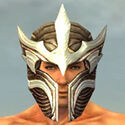 Warrior Monument Armor M dyed head front