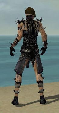 Necromancer Obsidian Armor M dyed back