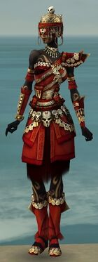 Ritualist Elite Imperial Armor F dyed front