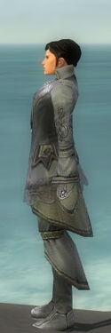 Elementalist Kurzick Armor M gray side