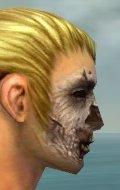 Zombie Face Paint gray side alternate