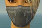 Assassin Shing Jea Armor F gray head front