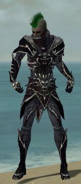 Necromancer Elite Necrotic Armor M dyed front