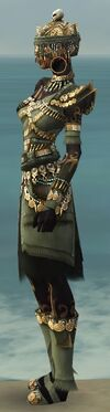 Ritualist Elite Imperial Armor F gray side