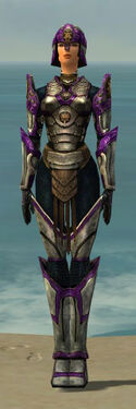 Warrior Sunspear Armor F dyed front