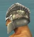 Warrior Templar Armor M gray head side