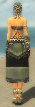 Ritualist Luxon Armor F gray back