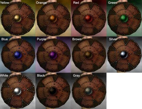 Ornate Buckler Dye Chart