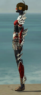 Assassin Asuran Armor F dyed side