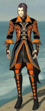 Elementalist Elite Kurzick Armor M dyed front