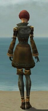 Mesmer Ancient Armor F gray back
