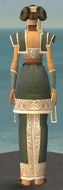 Monk Tyrian Armor F gray back