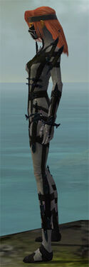 Assassin Obsidian Armor F gray side