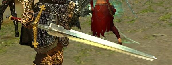 Crafted longsword