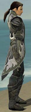 Elementalist Elite Flameforged Armor M gray side