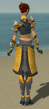 Elementalist Elite Stoneforged Armor F dyed back