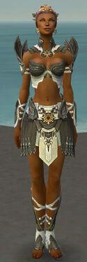 Paragon Elite Sunspear Armor F gray front