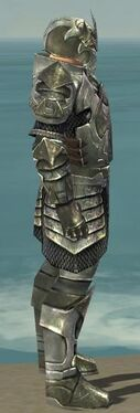 Warrior Elite Templar Armor M gray side