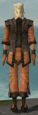 Elementalist Sunspear Armor M dyed back