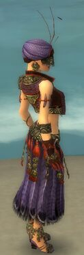 Ritualist Asuran Armor F dyed side