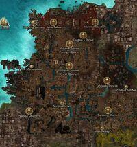 Kaineng City map