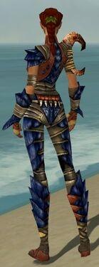 Ranger Elite Drakescale Armor F dyed back