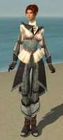 Elementalist Ancient Armor F gray front