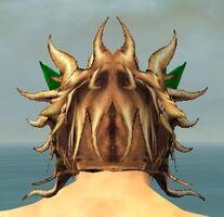 Dragon Mask dyed back