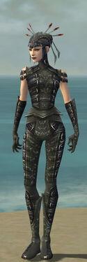 Necromancer Ascalon Armor F gray front