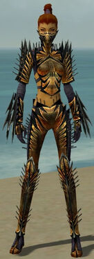 Assassin Elite Exotic Armor F dyed front