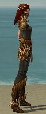 Ranger Elite Sunspear Armor F gray side