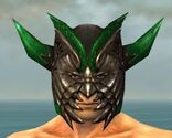 Warrior Elite Dragon Armor M dyed head front