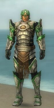 Warrior Sunspear Armor M dyed front
