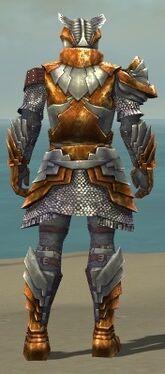 Warrior Templar Armor M dyed back
