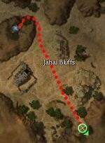 Churrta the Rock map