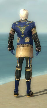 Mesmer Elite Canthan Armor M dyed back
