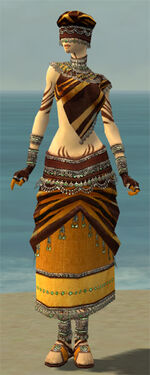 Ritualist Exotic Armor F dyed front