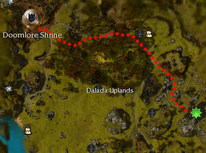 Forgotten Relics map