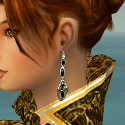 Elementalist Elite Canthan Armor F dyed earrings